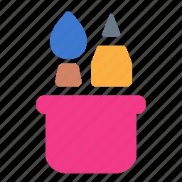 brush, creative, design, pencil, tool, tools, utilites icon