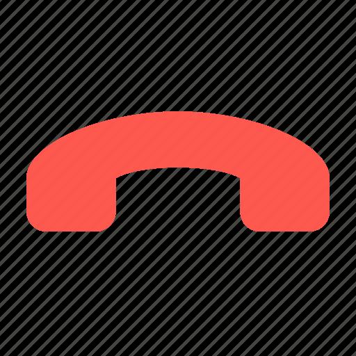 call, end, hang, hang up, phone icon