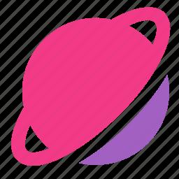 cosmos, icojam, planet, saturn, space icon