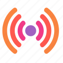 internet, network, online, radio, signal, wi-fi, wifi icon