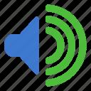 speaker, audio, sound, volume
