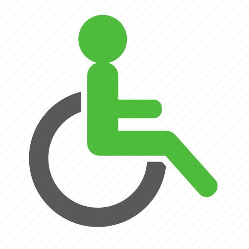 disability, hospital, patient, sign, wheelchair icon