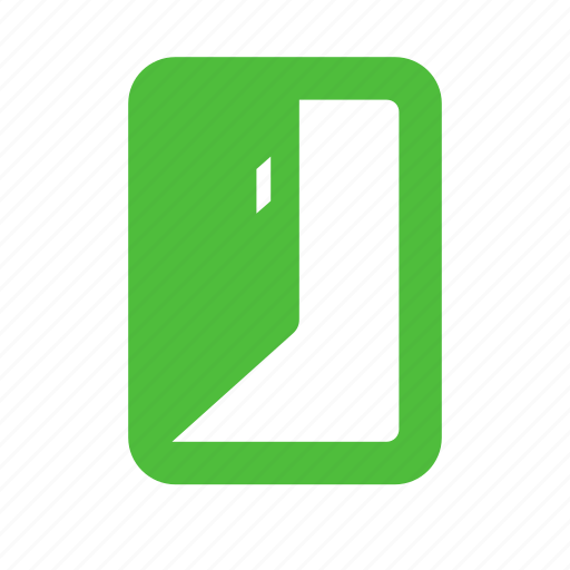 door, exit, logout, open, out, quit, sign out icon