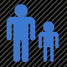 boy, child, father, parent, parent control, son icon