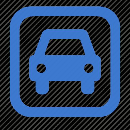 auto, automobile, car, parking, transport, vehicle icon