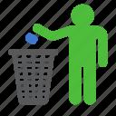 trash, bin, box, garbage, recycle