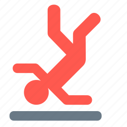 caution, floor, sign, warning, wet icon