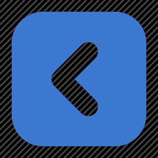 arrow, back, backward, control, left, prev, previous icon