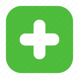 add, create, new, open, plus icon
