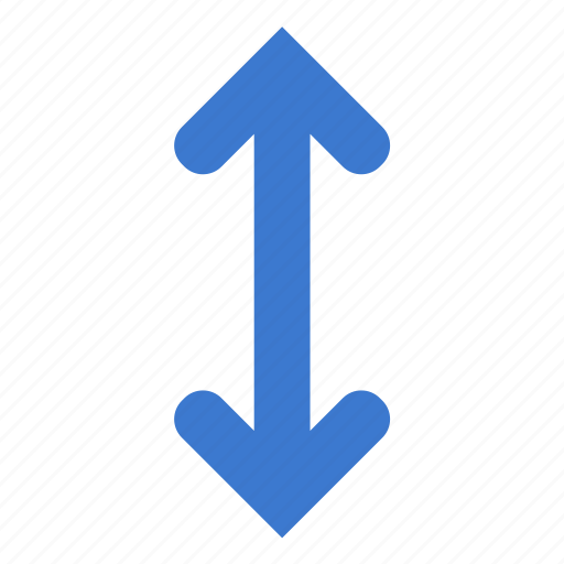 arrows, direction, down, swap, up, vertical icon