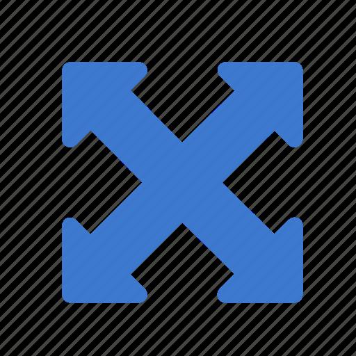 arrows, expand, fullscreen, maximize, window icon