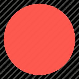 circle, figure, form, round, shape icon