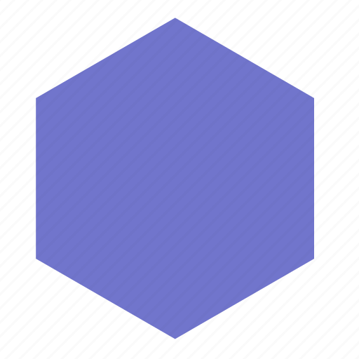 Hexagon, shape, figure, form icon - Download on Iconfinder