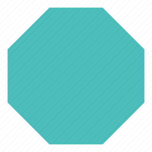 figure, form, octagon, shape icon