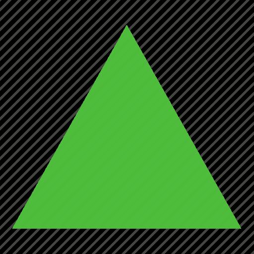 figure, form, geometry, shape, triangle icon