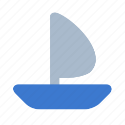 boat, marine, sail, sea, ship, transport, travel icon