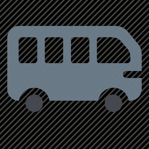 auto, autobus, bus, transport, travel, vehicle icon