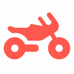 bike, motocycle, motorcycle, scooter, transport, vehicle icon