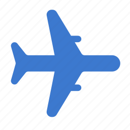 air, airplane, flight, fly, plane, transport, travel icon