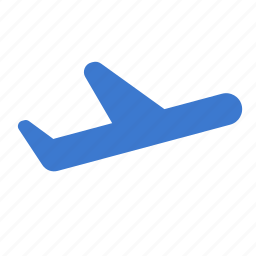 aircraft, airplane, flying, plane, takeoff, transport, travel icon