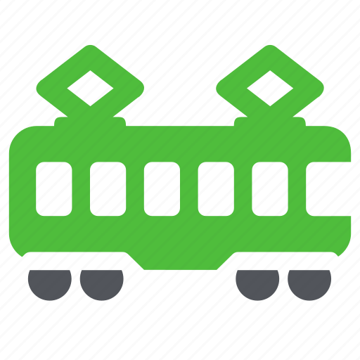 railroad, railway, train, tramway, transport icon