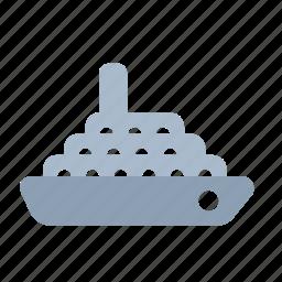boat, marine, nautical, ship, transport, travel, yacht icon