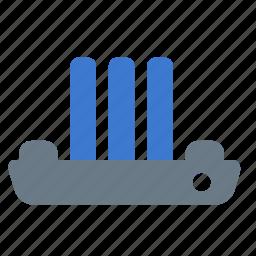 nautical, ship, shipping, steamship, transport icon