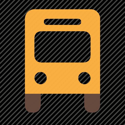 auto, bus, transport, travel, vehicle icon
