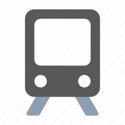 railroad, railway, train, transport, travel icon