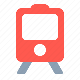 metro, railroad, railway, train, transport, underground icon