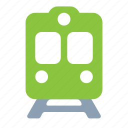 metro, railroad, train, transport, travel, underground icon