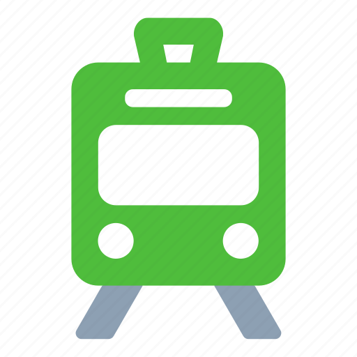 train, tramway, transport, travel icon