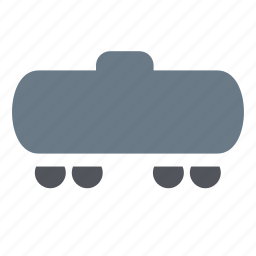 railroad, railway, shipping, tank, train, transport icon