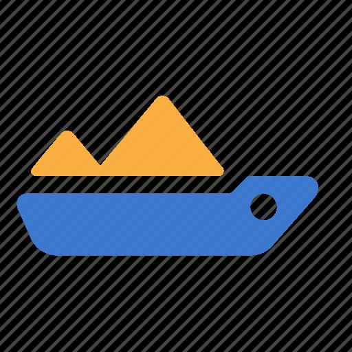 boat, cargo, nautical, ship, shipping, tanker icon