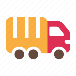 garbage truck, logistics, lorry, transport, truck, vehicle icon
