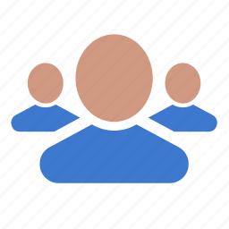 friends, group, people, team, users icon