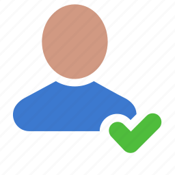 account, customer, profile, registered, user icon