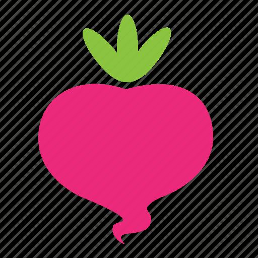 food, healthy, radish, vegetable icon