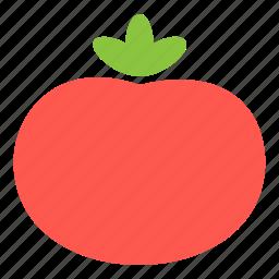 cooking, fresh, ingredient, tomato, vegetable icon