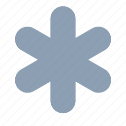 cold, forecast, snow, snowflake, weather icon