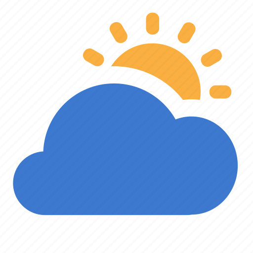 cloud, clouds, day, forecast, lot, weather icon