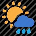 cloud, day, rain, sunny