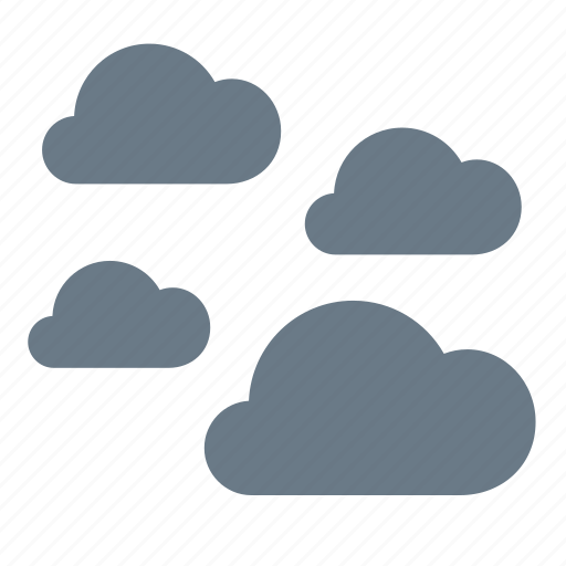 cloudy, fog, forecast, weather icon