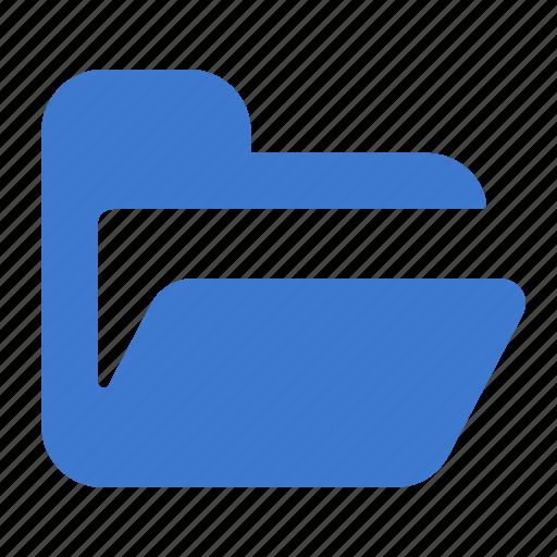 archive, data, documents, folder, open icon