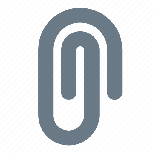 attach, clip, document, file, paper icon
