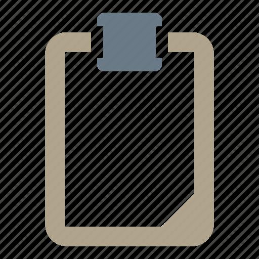 clipboard, note, paper, paste icon