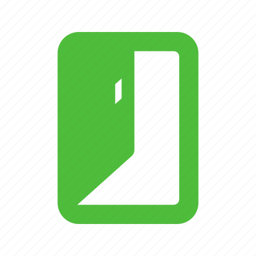 door, enter, exit, join, quit icon