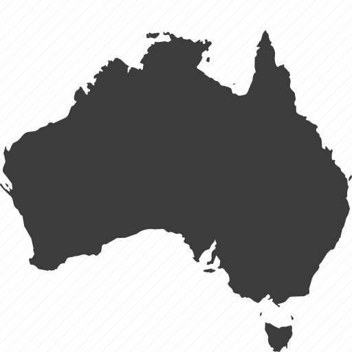 australia, continent, continents, countries, country, location, map icon