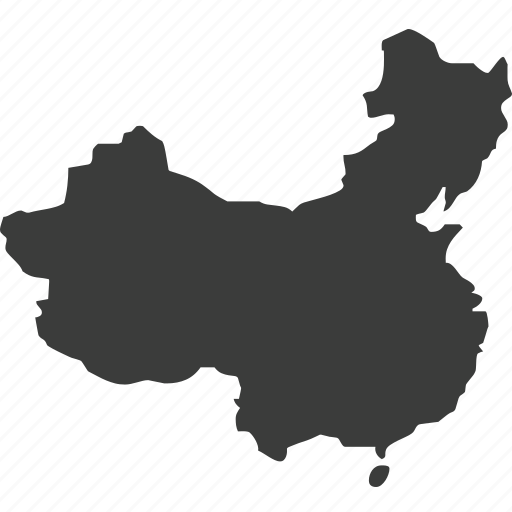 asia, china, countries, country, location, map icon