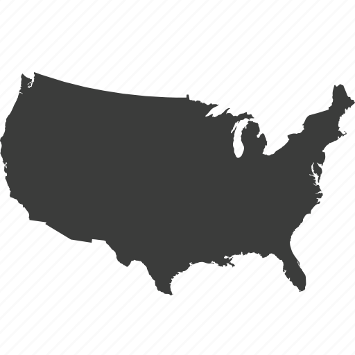 Countries Country Location Map Usa Icon Icon Search Engine - Us map logo